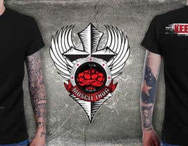 #50 untuk Design a T-Shirt for our althletic brand Muscle Thug oleh richisd