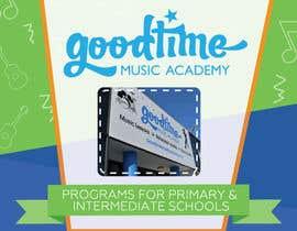 Nro 2 kilpailuun Sales Flyer for music school - EASY BRIEF käyttäjältä creatable