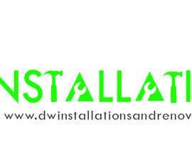 Nro 40 kilpailuun Logo Design for http://dwinstallationsandrenovations.com.au/ käyttäjältä jojohf