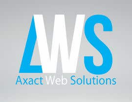 #10 for Professional Logo For AxactWebSolutions - repost by Hardikvora