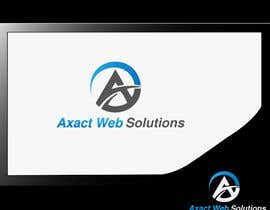 #11 for Professional Logo For AxactWebSolutions - repost by Dreamofdesigners