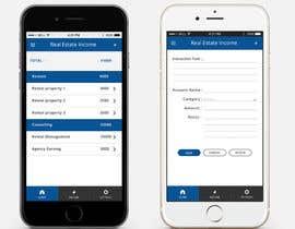 Nro 3 kilpailuun Design two Mobile App Pages käyttäjältä sunnyGoldeneye