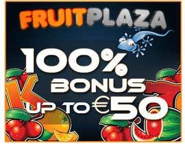 #11 for Design a Banner for Fruitplaza.com by darkemo6876