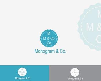 #13 for Design logo for Monogram and Company by AWAIS0