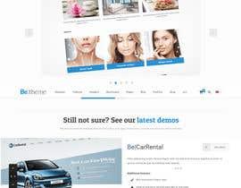 Nro 3 kilpailuun Redesign of website in Wordpress. Find template käyttäjältä djmalibiran
