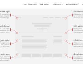 Vavika tarafından Redesign of website in Wordpress. Find template için no 8