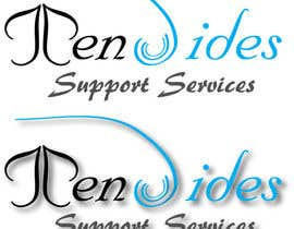 David22Designs tarafından Design a Logo for Ten Sides Support Services için no 12