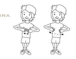 #13 untuk Illustrate a child signing the name of an animal oleh FLand