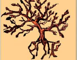 Nro 8 kilpailuun Design a hidden message in a tree Tattoo käyttäjältä poornimamani007