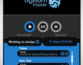 nº 6 pour Design a time tracking application par vinayvijayan