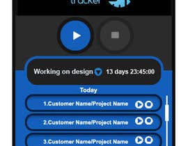 nº 8 pour Design a time tracking application par vinayvijayan