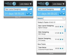 nº 14 pour Design a time tracking application par seguro