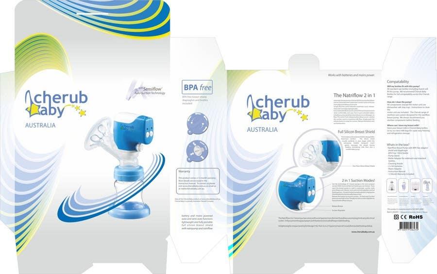 Bài tham dự cuộc thi #                                        7                                      cho                                         Packaging Box Design for Cherub Baby