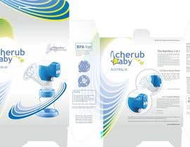 #7 for Packaging Box Design for Cherub Baby af R063rt