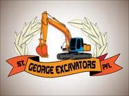 Graphic Design for St George Excavators Pty Ltd için Graphic Design23 No.lu Yarışma Girdisi