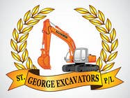Graphic Design for St George Excavators Pty Ltd için Graphic Design45 No.lu Yarışma Girdisi