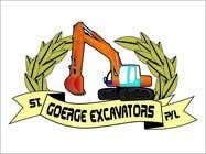Graphic Design for St George Excavators Pty Ltd için Graphic Design10 No.lu Yarışma Girdisi