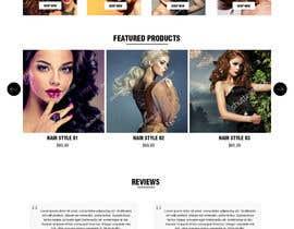 Nro 6 kilpailuun Design a Website Mockup - 10 käyttäjältä rajeev2005