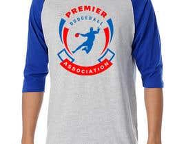 Nro 42 kilpailuun Design a  logo and t-shirt for a new dodgeball league käyttäjältä rokystive