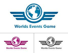 oceanpixels tarafından Design a Logo for World Events Game için no 43