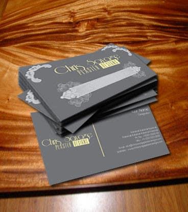 Business Card Design for Chris Savage Plaster Designs için 42 numaralı Yarışma Girdisi