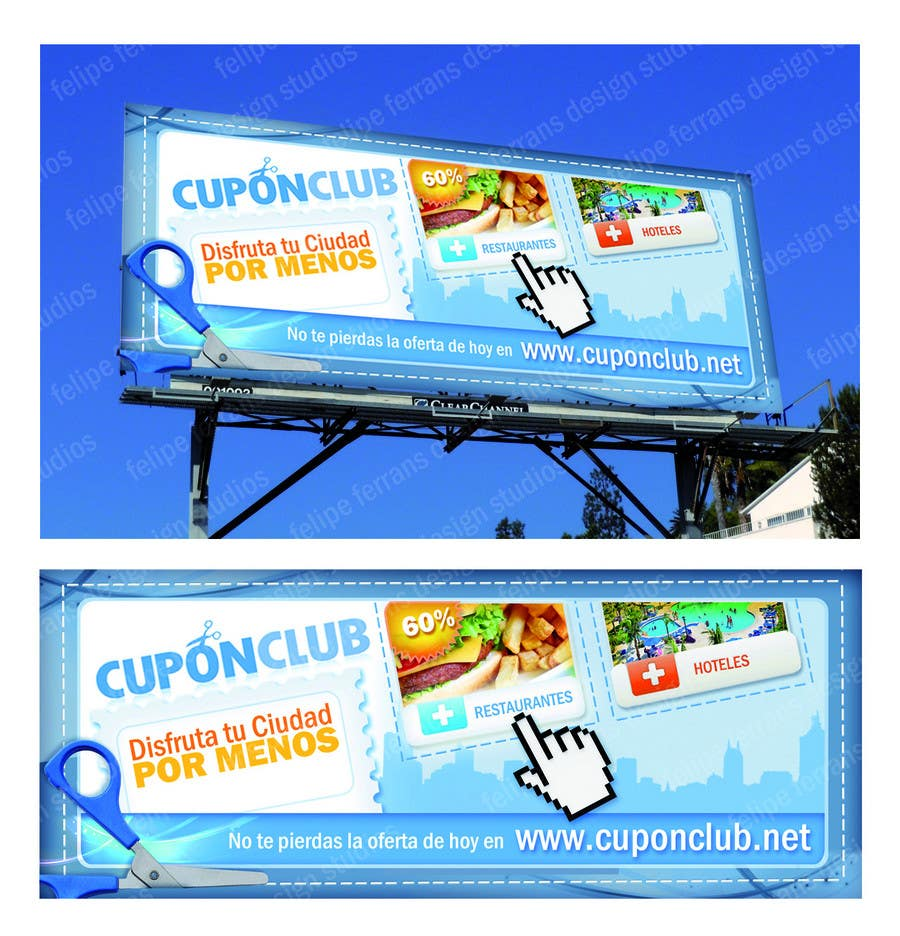 Proposition n°                                        2                                      du concours                                         Billboard Design for Cupon Club