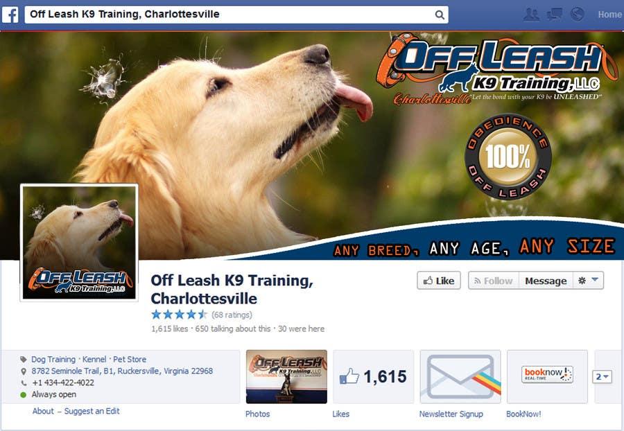 Inscrição nº 23 do Concurso para Facebook Page Banner and Profile Picture
