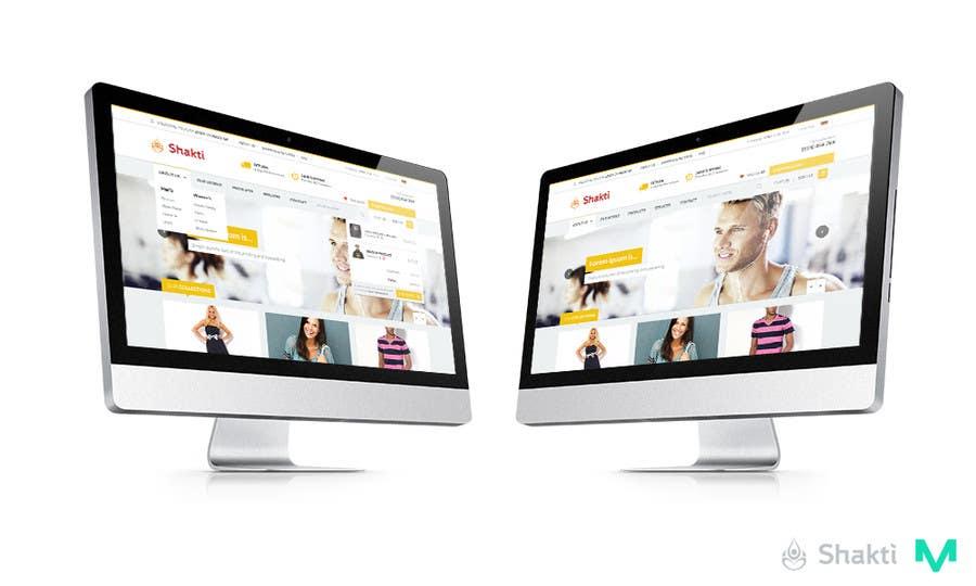 #49 for Design a Website Mockup for Elite Yoga Gear by mateuszwozniak