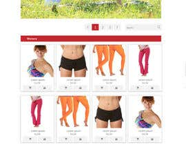 #125 para Design a Website Mockup for Elite Yoga Gear por king5isher