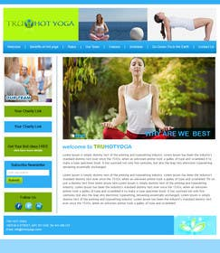 #116 for Design a Website Mockup for Elite Yoga Gear by bestatall