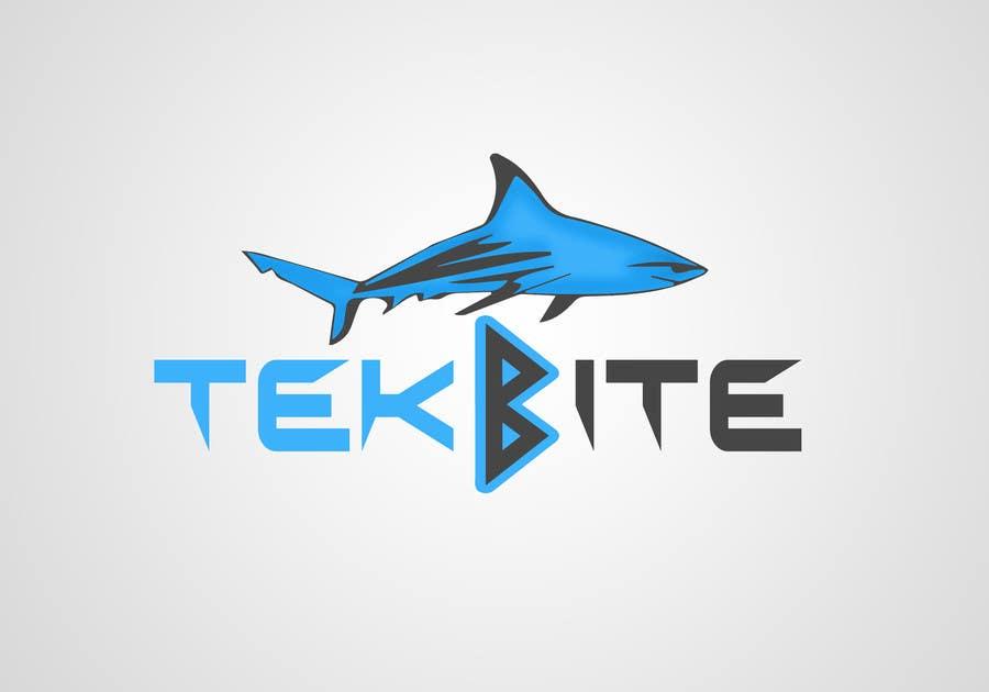 Kilpailutyö #27 kilpailussa Design a Logo for TekBite