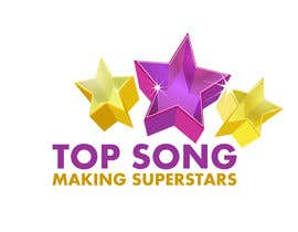 #33 para Re-Design a Logo for TOP SONG MUSICAL REALITY SHOW por iamnaab