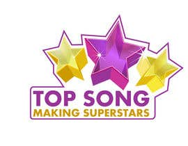 #34 para Re-Design a Logo for TOP SONG MUSICAL REALITY SHOW por iamnaab