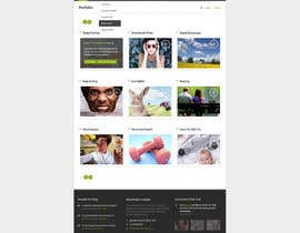 nº 4 pour Urgently Design a Website Mockup according to files and details provided par fo2shawy001