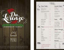 Nro 6 kilpailuun Italian Restaurant menu käyttäjältä francescasella