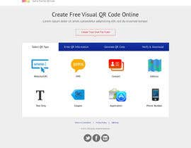 nº 31 pour Design a Website User Interface for QRcode generation company par clickinn