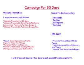 Nro 2 kilpailuun Marketing 101 käyttäjältä globalwebindia