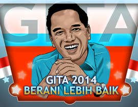 #42 for Design a Logo for an Indonesian President Candidate af Palewind