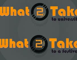 #89 para Design a Logo for What 2 Take por Ramanadotcom