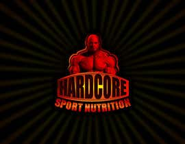 nº 75 pour Design a Logo for Hardcore Sports Nutrition par Wbprofessional