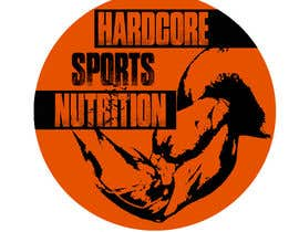 #30 para Design a Logo for Hardcore Sports Nutrition por kevinnormanUSA