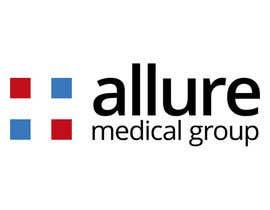 #98 para New corporate logo for Allure Medical Group por blackonwhite