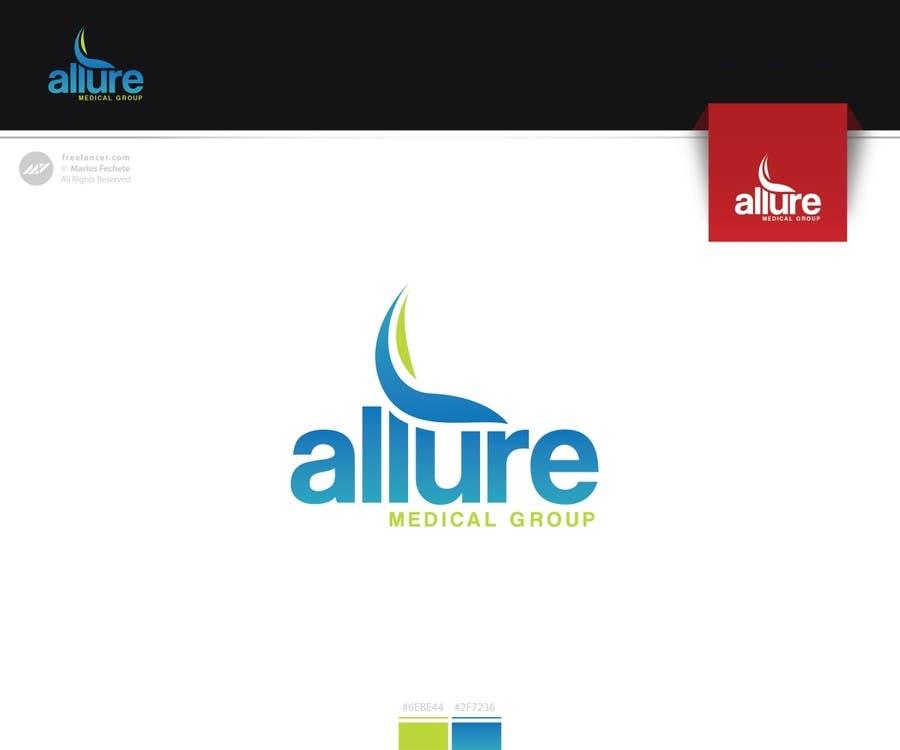 Kilpailutyö #35 kilpailussa New corporate logo for Allure Medical Group
