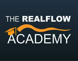 nº 70 pour Logo Design for The Realflow Academy par toi001