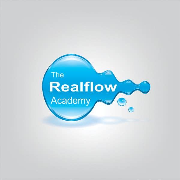 Kilpailutyö #355 kilpailussa Logo Design for The Realflow Academy