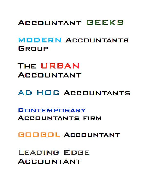 Proposition n°226 du concours Business name - Accounting firm
