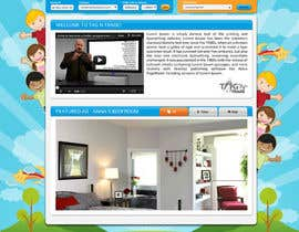 #13 for Design a Website Homepage for www.tntbaby.com.au af asad12204