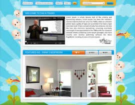 #17 for Design a Website Homepage for www.tntbaby.com.au by asad12204