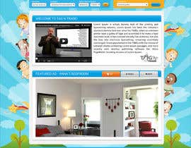 #20 for Design a Website Homepage for www.tntbaby.com.au af asad12204