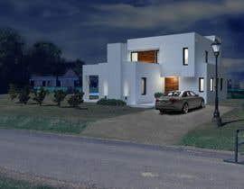 Nro 9 kilpailuun I need a 3D model for a house käyttäjältä nachoboetsch